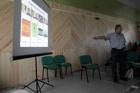 Александр Володченко открывает обсуждение неогеографии и метакартосемиотики