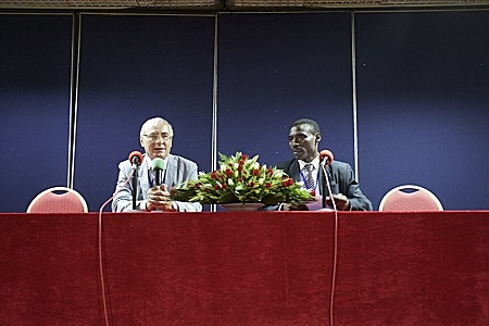 Кигали: работа конференции INTERCARTO|INTERGIS2014