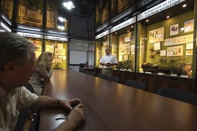 Археологический музей ДонНУ: свидетельства минувшего